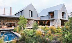 """""""A modern farmhouse in a historical suburb"""" is how René and Johann Slee describe their new home."""