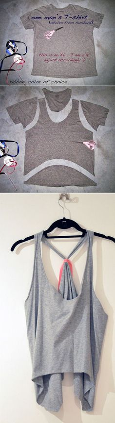 Easy Cut Out Tops for Women | diyprojects.com/diy-clothes-sewing-blouses-tutorial/