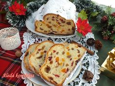 Aleda konyhája: Stollen avagy a Drezdai kalács French Toast, Bread, Breakfast, Cake, Recipes, Food, Christmas, Morning Coffee, Xmas