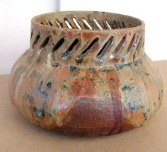 Vintage Stoneware Art Pottery Signed GERD