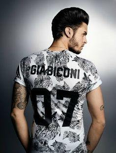 Baptiste Giabiconi pr elevenparis de Karl Lagerfeld