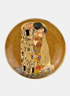 Gustav Klimt Welcome Plate - The Kiss