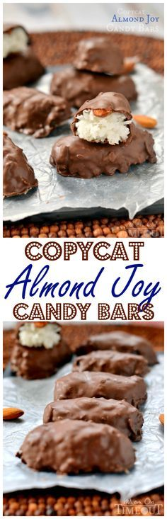 Calling all coconut lovers! You'll never believe how easy these Copycat Almond Joy Candy Bars are to make at home! Dangerously easy :) This easy dessert recipe is going to blow your mind!