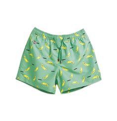 Go Bananas Swim Shorts Green