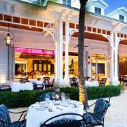 Latitudes Beach Dining at Sunset Key Cottages, Key West, FL