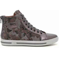 WOMEN'S LEATHER TRAINERS A411573D-109