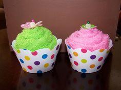 """Face cloth """"cupcakes"""""""