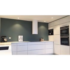 The sort of colourful kitchen that you can easy change without spending a…