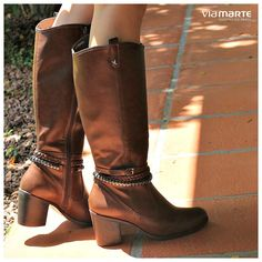 bota montaria - brown boots - winter shoes - Inverno 2015 - Ref. 15-5201