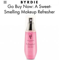 Thanks for the shoutout @byrdiebeauty!