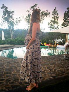 Behati Prinsloo Pregnant, Baby Bump Pics by Adam Levine : People.com