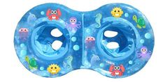 Stuff 4 Multiples designed the perfect pool float for twins! This twin parent favorite is perfect for parents that want to keep their two little ones together at the pool! Twin Mom, Twin Girls, Twin Babies, Baby Boys, Beach Babies, Baby Float, Wonder Twins, Nursery Twins, How To Have Twins
