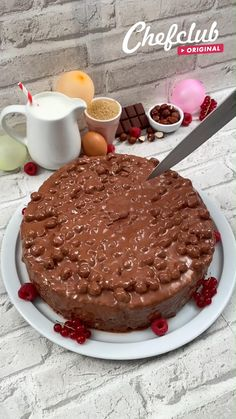 Easy Cake Recipes, Sweet Recipes, Baking Recipes, Dessert Recipes, Food Cravings, Yummy Food, Treats, Cook, Instagram