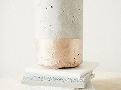 Tutorial fai da te: Come fare un portacandele in cemento via DaWanda.com