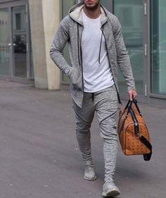 2a227bf2517  FASH3150  mensathleticwear  yeezys  sweatpants  sweatshirt  gym Mens  Athletic Fashion