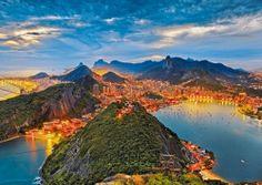 Ravensburger - Guanabara Bay Rio De Janeiro Brazil Jigsaw Puzzle - 1000 pc
