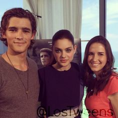 Brenton Thwaites & Odeya Rush exlcusive Los Tweens Interview for The Giver