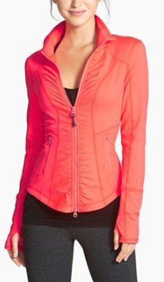 zip workout jacket VSX Sport | Women's Workout Clothes | Gym clothes | yoga clothes | Sport bras | Tank tops | leggings | #fitness #workout #apparel #gym #yoga | SHOP @ FitnessApparelExpress.com