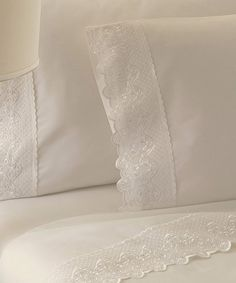 Look what I found on #zulily! Ivory Claudia Cotton Sheet Set #zulilyfinds