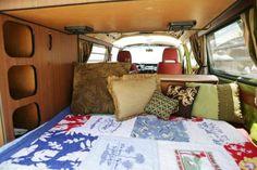 VARIOUS Model Released - Interior of vintage van. - Eye Candy/Rex Shutterstock/Rex Features/Rex Images