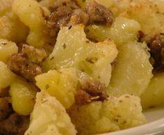 Ricetta Salsiccia, cavolfiore e patate pubblicata da Liliana72bimby - Questa ricetta è nella categoria Secondi piatti a base di carne e salumi