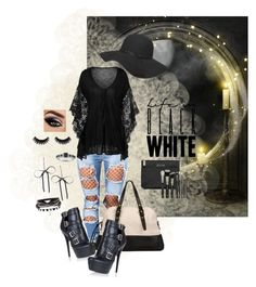 """Black n White"" by stormysmom ❤ liked on Polyvore featuring TOM TAILOR, Dorothy Perkins, Betsey Johnson, Modern Bride and ZOEVA"