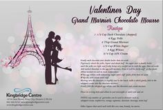Come make a reservation for our Valentines Day event to try our Desert for the night! Chocolate mousse! Dont miss out! Call now! #food #awesome #valentinesday #love #darling #classy #yummy #amazing #dressy #laughter #bliss #imagination #awardwinningchef #chocolate #pink