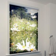 Custom roller blinds From £50 It would be great to get two roller blinds made and printed with Ben's art designs for the two windows. This would look great with plain (light) colour walls, and one wall (the one opposite the bed) covered in his artwork.