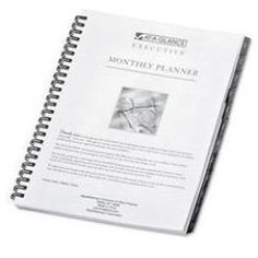 7091410 Executive Monthly Planner Refill 6-7/8 x 8-3/4 Low Price