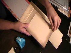 Manila File Folder tutorial - YouTube