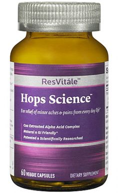 - Perluxan™ hops cone extract helps relieve joint pain*  - For relief of minor aches & pains from every day life*  - Co2 Extracted Alpha Acid Complex  - Natural & GI Friendly*  - Patented & Scientifically Researched    * These statements have not been evaluated by the Food and Drug Administration. This product is not intended to diagnose, treat, cure, or prevent any disease.
