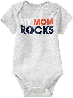 Humor Graphic Bodysuits for Baby | Old Navy --- waiting for this to get here for baby boy! All his other stuff is here lol