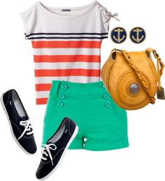 """""""Simple summer"""" by kristinbowser on Polyvore"""