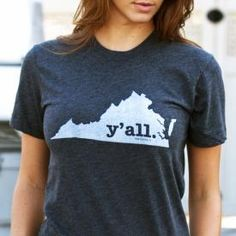 Virginia Y'all Shirt | bourbonandboots.com