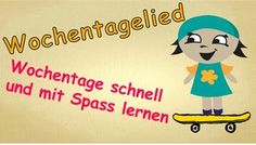 Wochentage | Német | Pinterest | Kindergarten, Education sites and ...