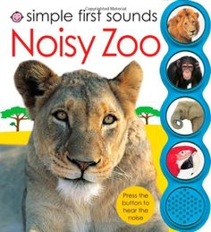 Simple First Sounds Noisy Zoo Reviews - What sound does this animal make? Children will have fun pressing the buttons in this noisy book and finding out!