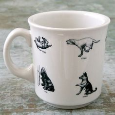 Dogs Mug - Mugs - Dinnerware