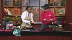 Kent Rollins prepared Stuffed Peppers & Cheese Crisps. Music, storytelling, poetry, dancing and chuck wagon cooking are just a few of the activities that will take place at the 16th Annual Saddle Up celebration in Pigeon Forge, TN Feb. 17-21, 2016, headquartered at the LeConte Center in Pigeon Forge. Ticket info and a detailed schedule can be found at www.MyPigeonForge.com/saddleup and www.kentrollins.com