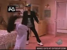 """Every Dance On """"The Fresh Prince Of Bel Air""""--- I LOVED this show"""
