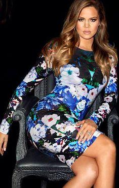 Khloe Kardashian amazing hair