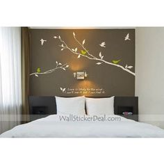 Comes in brown $37    http://www.wallstickerdeal.com/love-is-likely-to-the-wind-wall-sticker.html