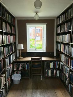 Home Interior Design — The study cubicles at my library - - Small Home Libraries, Home Library Rooms, Home Library Design, Small Home Offices, Home Room Design, Home Office Design, House Rooms, Home Interior Design, House Design