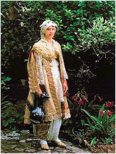 Albanian costume from Elbasan