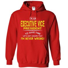 NVW Executive Vice President T-Shirts, Hoodies. ADD TO CART ==► https://www.sunfrog.com/LifeStyle/NVW-Executive-Vice-President-8662-Red-4161838-Hoodie.html?41382