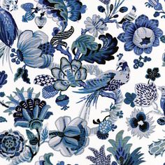 Flora and Fauna fabric...obsessed