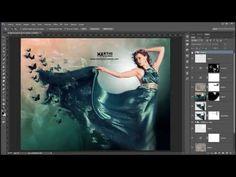 Tutorial Photoshop en español - Convertir persona en tigre - YouTube