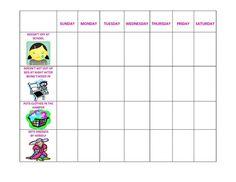 Preschool Behavior Chart Template Awesome Daily Printable Behavior Charts for Home Free Behavior Chart Preschool, Home Behavior Charts, Free Printable Behavior Chart, Daily Printable, Free Printable Stickers, Behaviour Chart, Reward Chart Template, Rewards Chart, Free Rewards