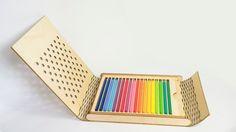 Packaging : Coloroid boite à crayons par Jialu Li