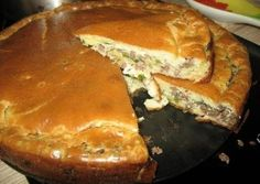 Супер нежный пирог с капустой и мясом
