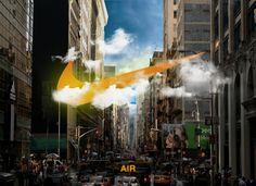 fictional Nike ad by Joakim Meihack, via Behance
